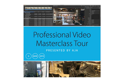 Professional Video Masterclass Tour Presented by AJA - Sydney, Australia