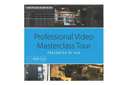 Professional Video Masterclass Tour Presented by AJA - New Delhi, India