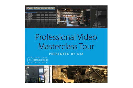 Professional Video Masterclass Tour Presented by AJA - Seoul, Korea