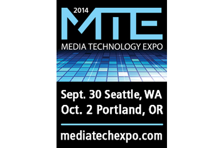 AJA Sponsors the 2014 Media Technology Expo - Seattle, WA