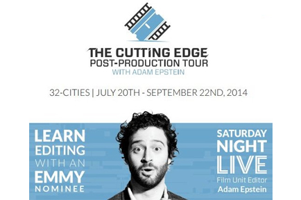 AJA Sponsors the 2014 Cutting Edge Tour - Boston, MA