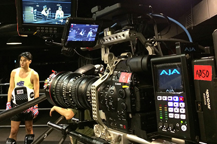 Cinematographer Henry Chung Captures in 4K with AJA Ki Pro Quad and Canon C500