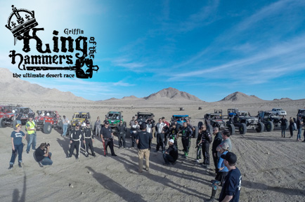 King of Hammers 2015 Broadcasts Take AJA Gear Off-Roading