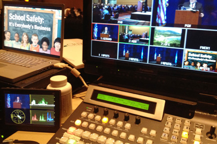 AJA Technology Powers Live AV Production for  CREC School Safety Conference